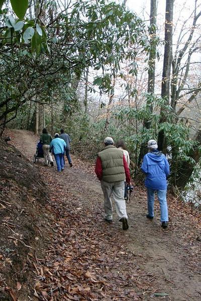 January FSO Hike on Fieldale Trail