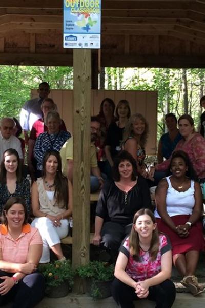 Volunteers Needed! Outdoor Classroom Sprucing