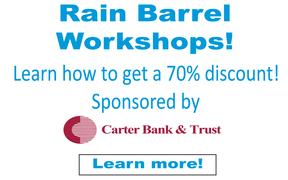 Carter Bank Rain Barrel