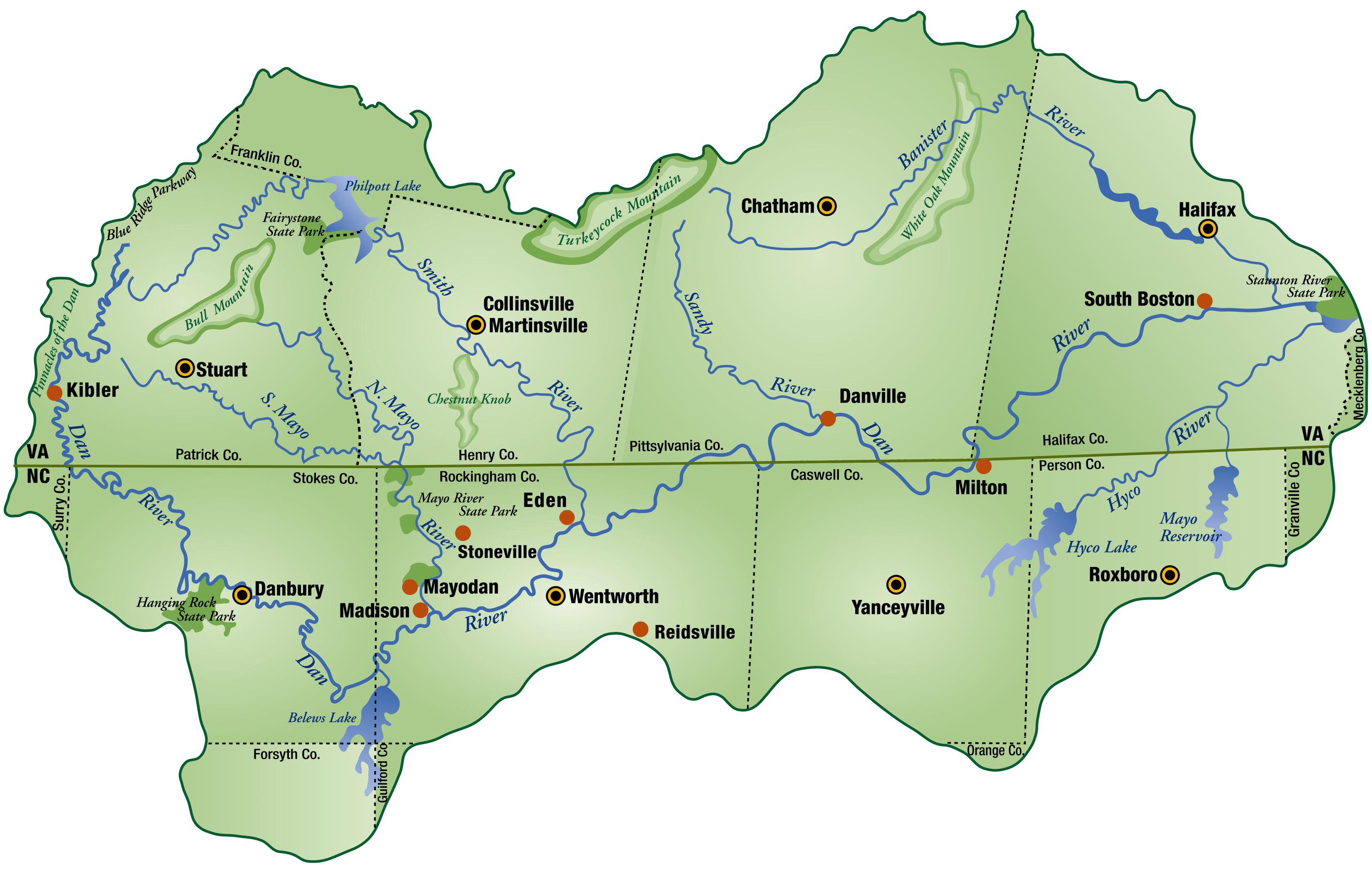2019 DRBA Basin Map