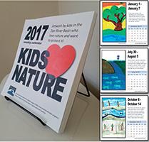 2017 Kids Love Nature Calendar
